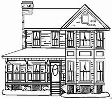 Malvorlagen Haus Innen Haus Mit Vielen Fenster Ausmalbild Malvorlage Sonstiges