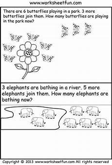 tales worksheets for kindergarten 14995 free printable kindergarten story math problems picture word problems addition word problems