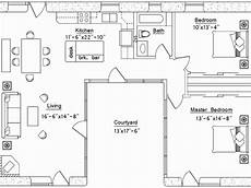 u shaped house plans with courtyard courtyard mediterranean house plans luxury home with inlaw
