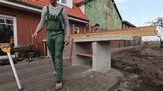 outdoor küche bauen wir bauen eine outdoor k 252 che