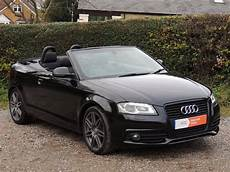 used 2009 audi a3 2 0 tdi s line black edition convertible