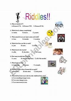 riddles worksheets 10881 riddles esl worksheet by