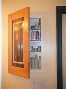 Bathroom Storage No Medicine Cabinet by Concealed Bathroom Cabinet Picture Frame Door