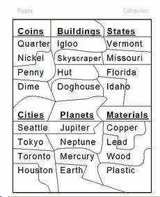 classifying and categorizing worksheets for 3rd grade 7941 categories word lists activities worksheets and more free language stuff