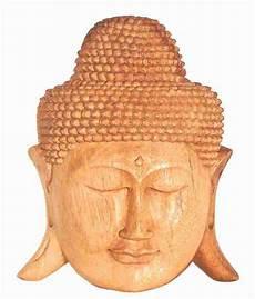 maske buddha wandmaske soarholz 30 cm afrika deko shop