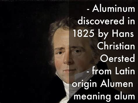 Who Discovered Aluminum And When