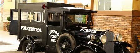 Ford  1929 Model AA Chicago Police Paddy Wagon Welcome