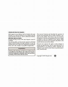 free car manuals to download 2008 chrysler pt cruiser engine control 2008 chrysler pt cruiser owners manual