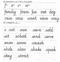 joining letters handwriting worksheets free 21760 handwriting
