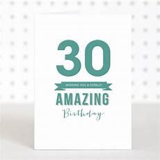 amazing 30 birthday card by doodlelove