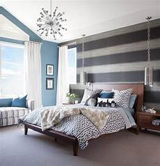 Trendy Bedroom Ideas For 20 trendy bedrooms with striped accent walls