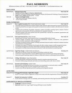 current college student resume printable receipt template