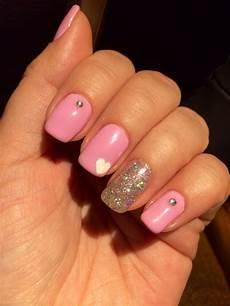 my valentine s gel nails nails gel nails gel