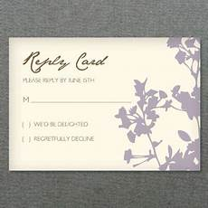 diy wedding rsvp enclosure card templates pinterest