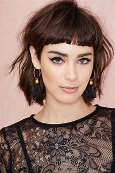 2020 popular shaggy bob hairstyles with bangs