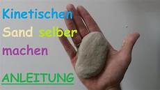 diy kinetic sand selber machen sandknete selbst machen