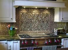 Mosaic Tile Ideas For Kitchen Backsplashes Mosaic Ellipse Kitchen Backsplash And Coordinating Field Tiles