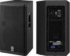 yamaha dsr 112 powered speaker pair 187 u s backline