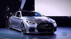 Infiniti Q60 Project Black S And Project 9 Unveiled At