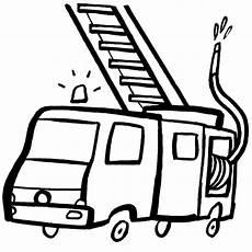 Malvorlagen Feuerwehr Einfach Ausmalbild Transportmittel Kostenlose Malvorlage