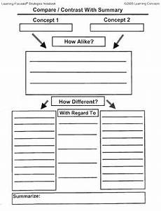 this worksheet can be used for students to compare and contrasts stories they read 5th grade