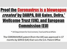 us patent for corona virus #us7220582b1