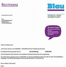 rechnung einsehen f 252 r blau handyvertrag sowie blau prepaid