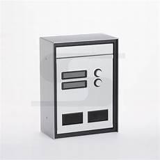 cassetta postale da esterno cassetta postale con citofono e due canelli da incasso