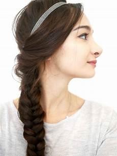 Coiffure Avec Headband Cheveux Mi