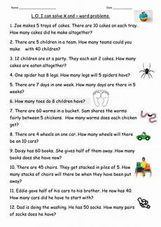 multiplication division word problems for year 2 by clara5 teaching resources tes