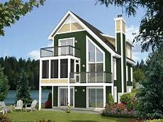 house plans for narrow lots on lake narrow lot home plan rear 072h 0209 narrow lot house