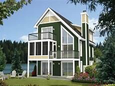 house plans for narrow lots on lake narrow lot home plan rear 072h 0209 narrow lot house