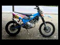 Jupiter Mx Modif Trail by Modifikasi Motor Bebek Bodong Yamaha Jupiter Mx 2005
