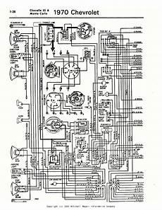 1970 El Camino 396 Ss I Need A Detailed Color Diagram Of