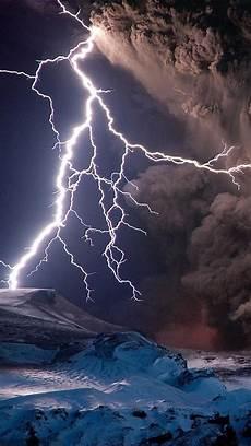 volcanic lightning wallpaper wallpapersafari