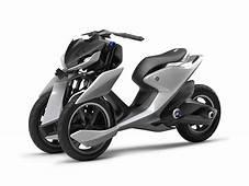 Yamaha 03GEN F Scooter Concept  Mașini