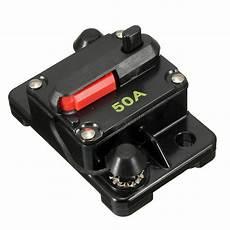12 volt sicherungsautomat circuit breaker dual battery system 50a 200a 12v 12 volt