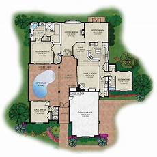 courtyard pool house plans perfect house plan courtyard for privacy small pool why