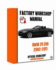 service repair manual free download 2005 bmw z4 seat position control gt gt official workshop manual service repair bmw series z4 e89 2009 2016 7625694446502 ebay