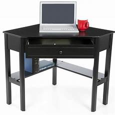 home office corner desk furniture black wooden corner desk laptop writing student home