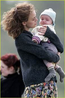 Sized Photo Of Keira Knightley Carrying Baby Photo