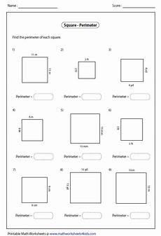 rectangle worksheets