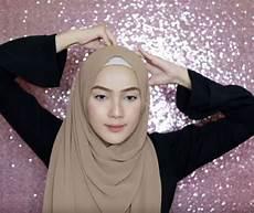 Tutorial Pashmina Simple Untuk Wajah Kotak Jilbab