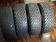 vendo 4 pneus 235 70 r16 all terrain t a bf goodrich