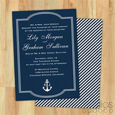 diy nautical wedding invitation suite custom by lestudios