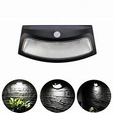 8 led solar induction light wall l infrared sensor l outdoor garden lights ip55 waterproof