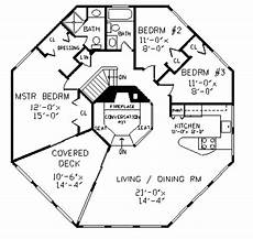 octagon house plans colonial style house plan 4 beds 3 baths 2078 sq ft plan