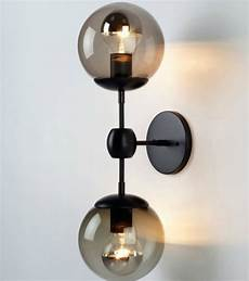 glass ball wall sconce and lights contemporary wall sconces new york by