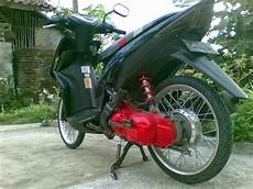 Modif Mio Soul Velg Lebar by Motor Rakitan Modifikasi Beat Velg Lebar