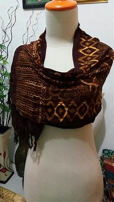 jual syal batik ratu syal batik scarf batik shawl murah sb7 di lapak ziro shop wahyu ilham685